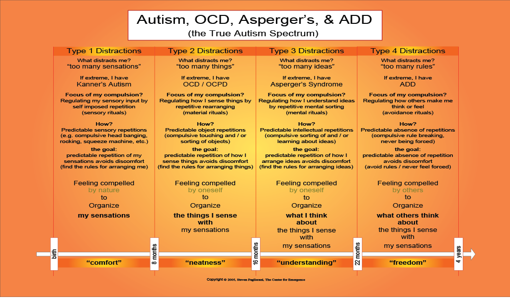 autism characteristic Someone with high-functioning autism might not seem.